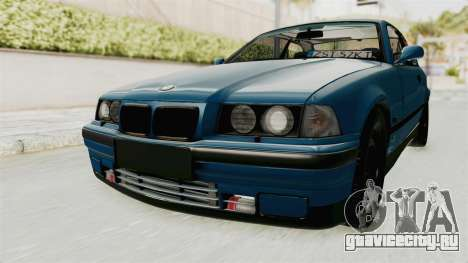 BMW 325i E36 для GTA San Andreas вид сзади слева