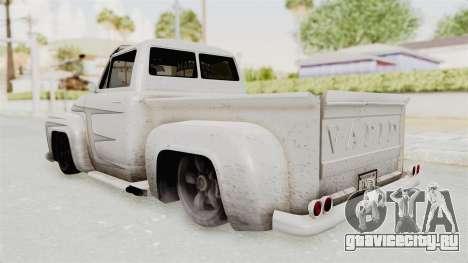GTA 5 Slamvan Lowrider PJ1 для GTA San Andreas вид изнутри