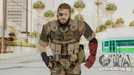 MGSV The Phantom Pain Venom Snake Wetwork для GTA San Andreas
