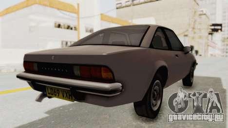 Vauxhall Cavalier MK1 Coupe для GTA San Andreas вид слева