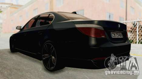 BMW 530D E60 для GTA San Andreas вид слева