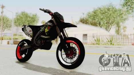 Kawasaki KLX 150S Supermoto для GTA San Andreas вид справа