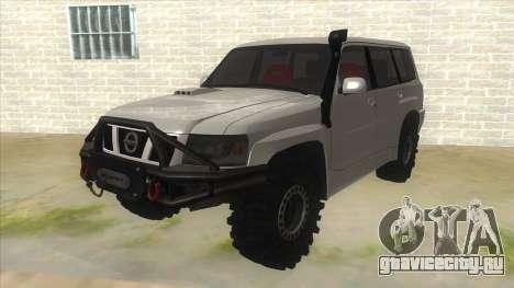 Nissan Patrol Y61 для GTA San Andreas