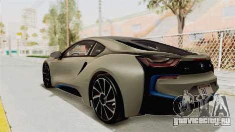 BMW i8-VS 2015 для GTA San Andreas вид слева