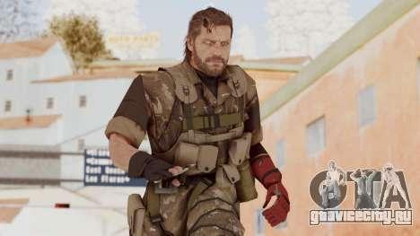 MGSV The Phantom Pain Venom Snake No Eyepatch v9 для GTA San Andreas