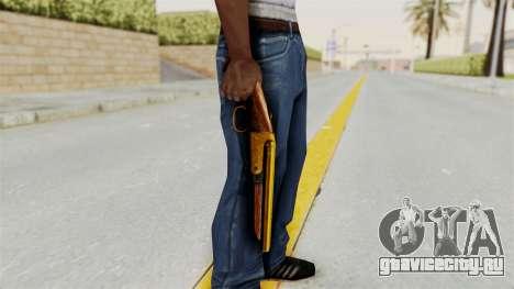 Sawnoff Gold для GTA San Andreas третий скриншот