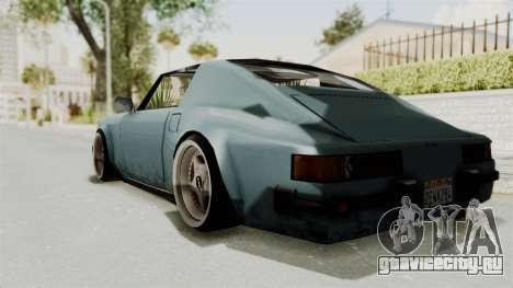 Comet 911 GermanStyle для GTA San Andreas вид слева