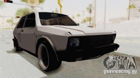 Zastava Yugo Koral 55 для GTA San Andreas