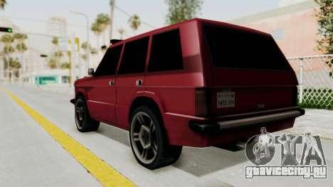 Huntley LR для GTA San Andreas вид слева