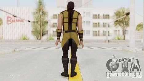 Mortal Kombat X Klassic Scorpion для GTA San Andreas третий скриншот
