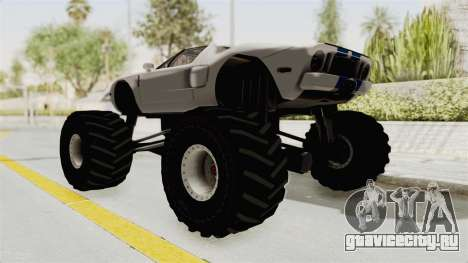 Ford GT 2005 Monster Truck для GTA San Andreas вид слева