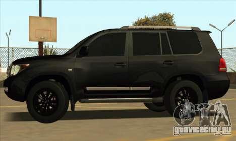 Toyota Land-Cruiser 200 для GTA San Andreas вид сзади