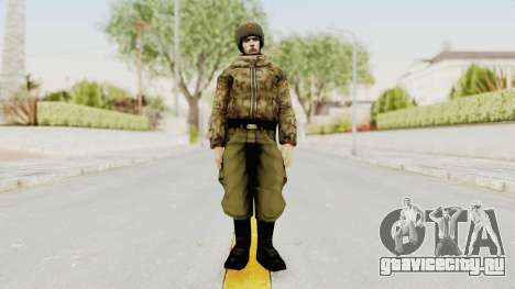 Russian Solider 3 from Freedom Fighters для GTA San Andreas второй скриншот