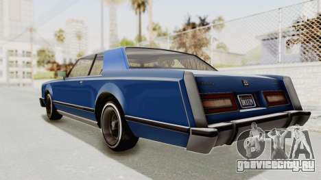 GTA 5 Dundreary Virgo Classic Custom v1 IVF для GTA San Andreas вид слева