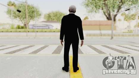 Batman Begins - Morgan Freeman для GTA San Andreas третий скриншот