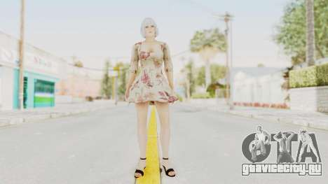 Dead Or Alive 5 LR - Christie Casual New Hair для GTA San Andreas второй скриншот
