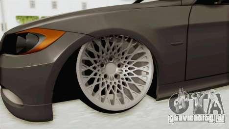 BMW 330i E92 Camber для GTA San Andreas вид сзади