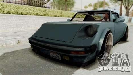 Comet 911 GermanStyle для GTA San Andreas