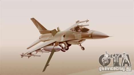 F-16A General Dynamics Chadian Air Force для GTA San Andreas
