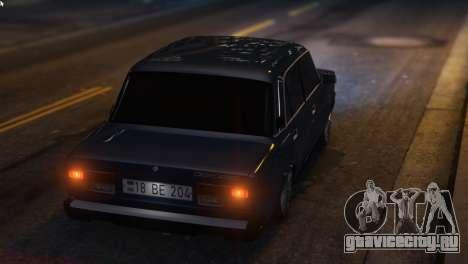 Вооруженные Проповедовать Авто 2107 для GTA 5 вид справа