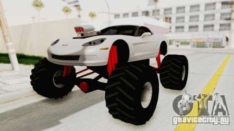 Chevrolet Corvette C6 Monster Truck для GTA San Andreas