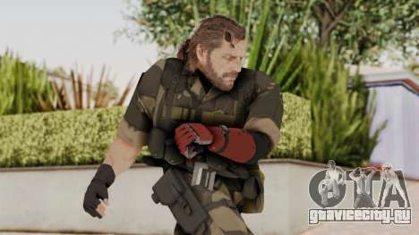 MGSV The Phantom Pain Venom Snake No Eyepatch v4 для GTA San Andreas