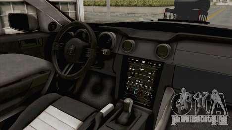 Ford Mustang 2005 Monster Truck для GTA San Andreas вид сбоку