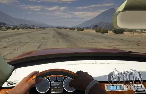 2014 Nissan Patrol Impul для GTA 5 вид сзади справа