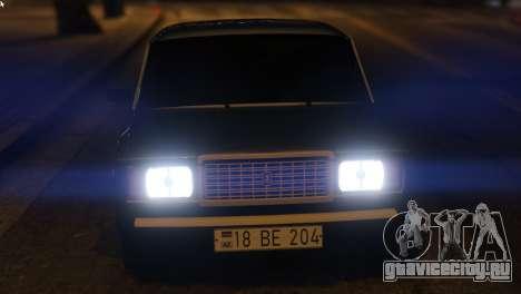 Вооруженные Проповедовать Авто 2107 для GTA 5