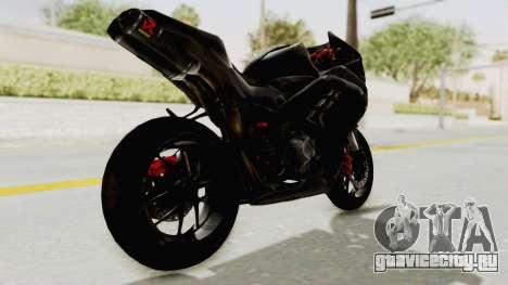 Kawasaki Ninja 300 FI Modification для GTA San Andreas вид слева