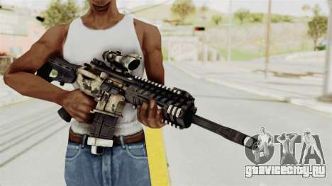 P416 для GTA San Andreas третий скриншот