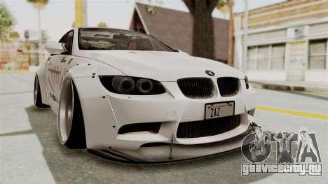 BMW M3 E92 Liberty Walk LB Performance для GTA San Andreas вид справа