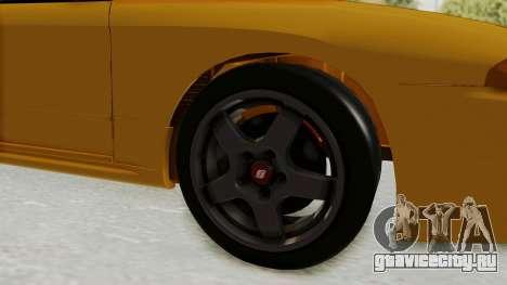 Nissan Skyline R32 4 Door Taxi для GTA San Andreas вид сзади