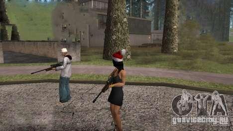 VIP Sniper Rifle для GTA San Andreas пятый скриншот