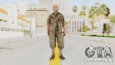 COD BO Dempsey для GTA San Andreas второй скриншот