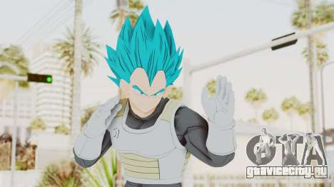 Dragon Ball Xenoverse Vegeta SSGSS для GTA San Andreas