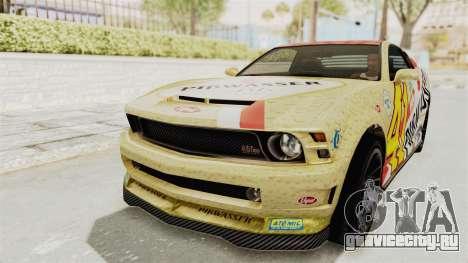 GTA 5 Vapid Dominator v2 SA Style для GTA San Andreas салон