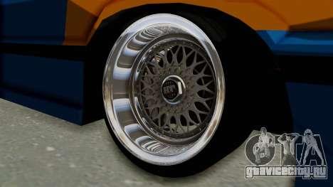 Honda Civic EF9 HellaFlush для GTA San Andreas вид сзади