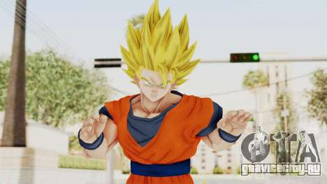 Dragon Ball Xenoverse Goku SSJ2 для GTA San Andreas