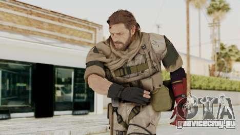MGSV The Phantom Pain Venom Snake Sc No Patch v3 для GTA San Andreas