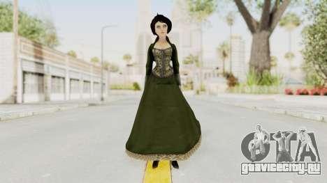 Bioshock Infinite Elizabeth Gibson для GTA San Andreas второй скриншот