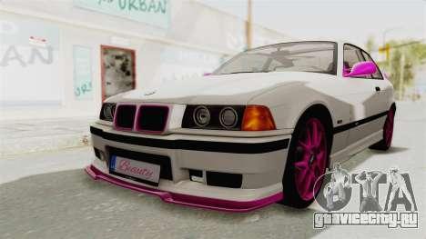 BMW M3 E36 Beauty для GTA San Andreas вид сзади слева