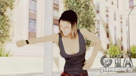 New Skin Michelle для GTA San Andreas