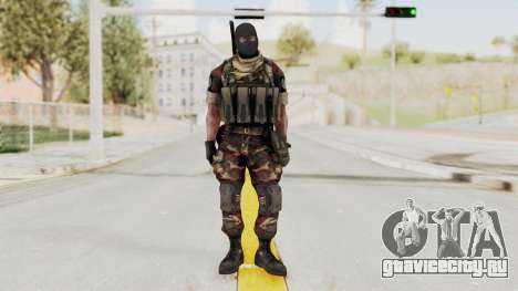 Battery Online Russian Soldier 3 v2 для GTA San Andreas второй скриншот