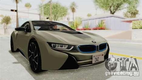 BMW i8-VS 2015 для GTA San Andreas вид справа