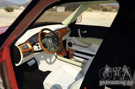 2014 Nissan Patrol Impul для GTA 5 вид сзади