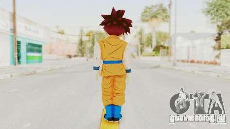 Dragon Ball Xenoverse Gohan Teen DBS SSG v2 для GTA San Andreas третий скриншот