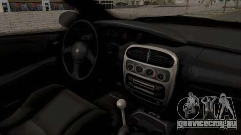 Dodge Neon Monster Truck для GTA San Andreas вид сзади