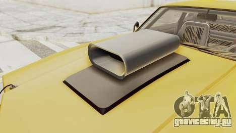 GTA 5 Declasse Sabre GT2 B IVF для GTA San Andreas вид изнутри