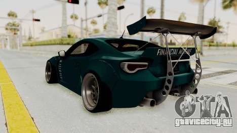 Scion FRS Rocket Bunny Killagram v1.0 для GTA San Andreas вид справа